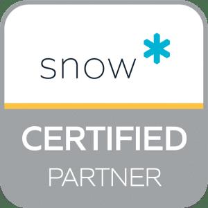 Partner CertifiedPartnerSquareBadge snow software