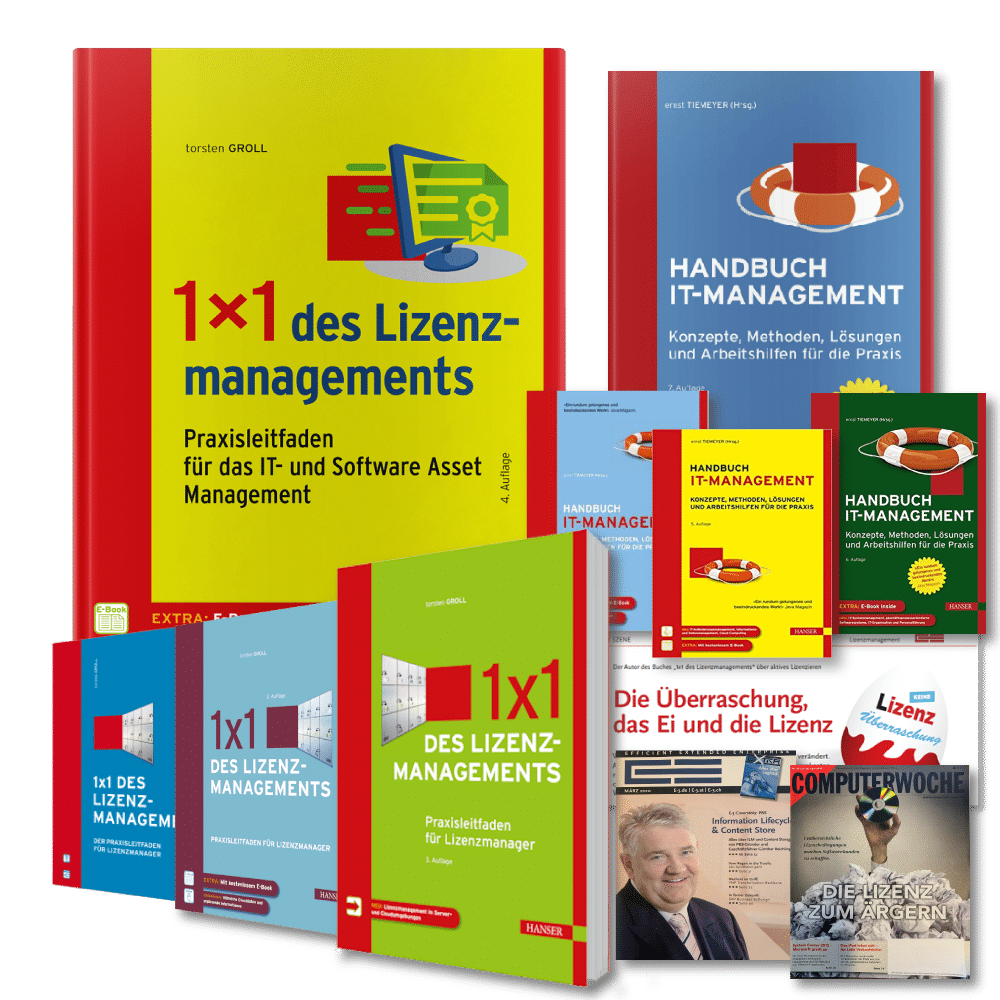 Publikationen 1x1 des lizenzmanagements